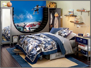 Teen Boys Sports theme bedroom4