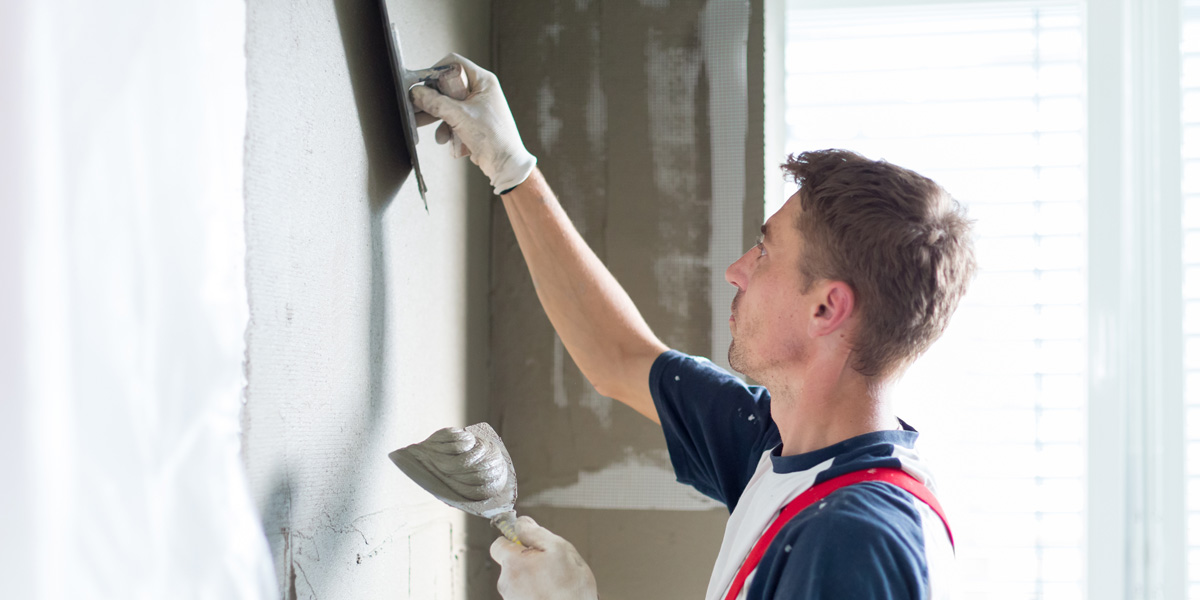 Plasterers and plasterboard fixers - what they do