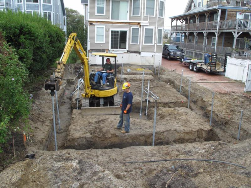 Piling and foundation contractors what do they do for Piling for house foundations