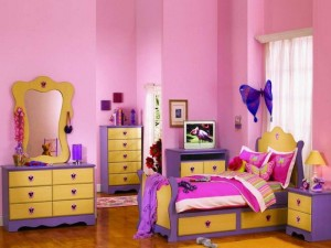 Girls Theme Bedroom Idea