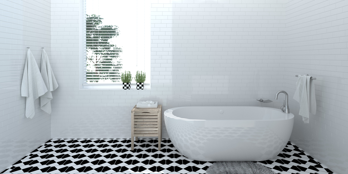 Create a Slice of Paradise in Your Master Bathroom
