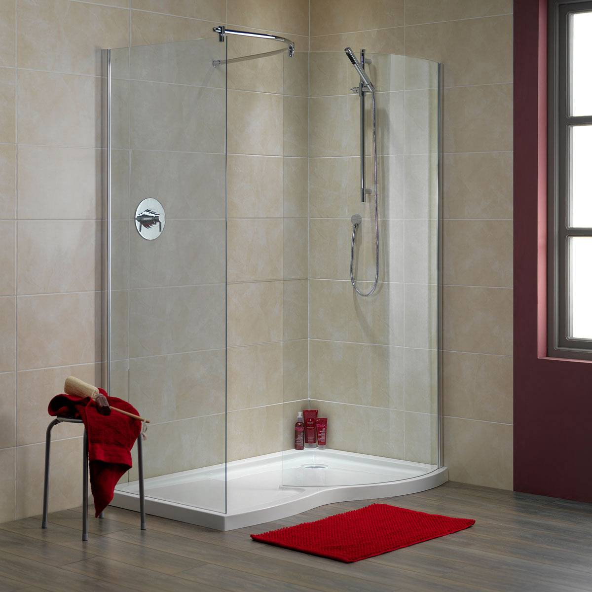 Walk in shower or wet room consider the benefits for Bathroom ideas nz