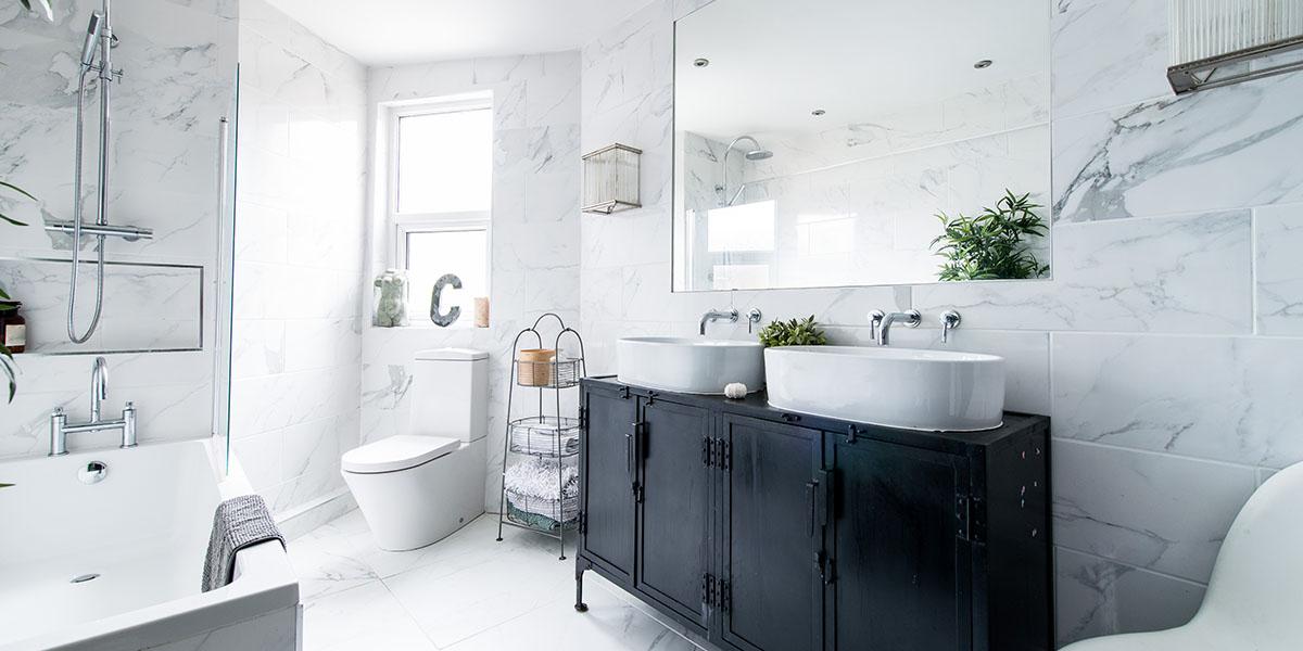 6 Ideas for a Budget Bathroom Makeover