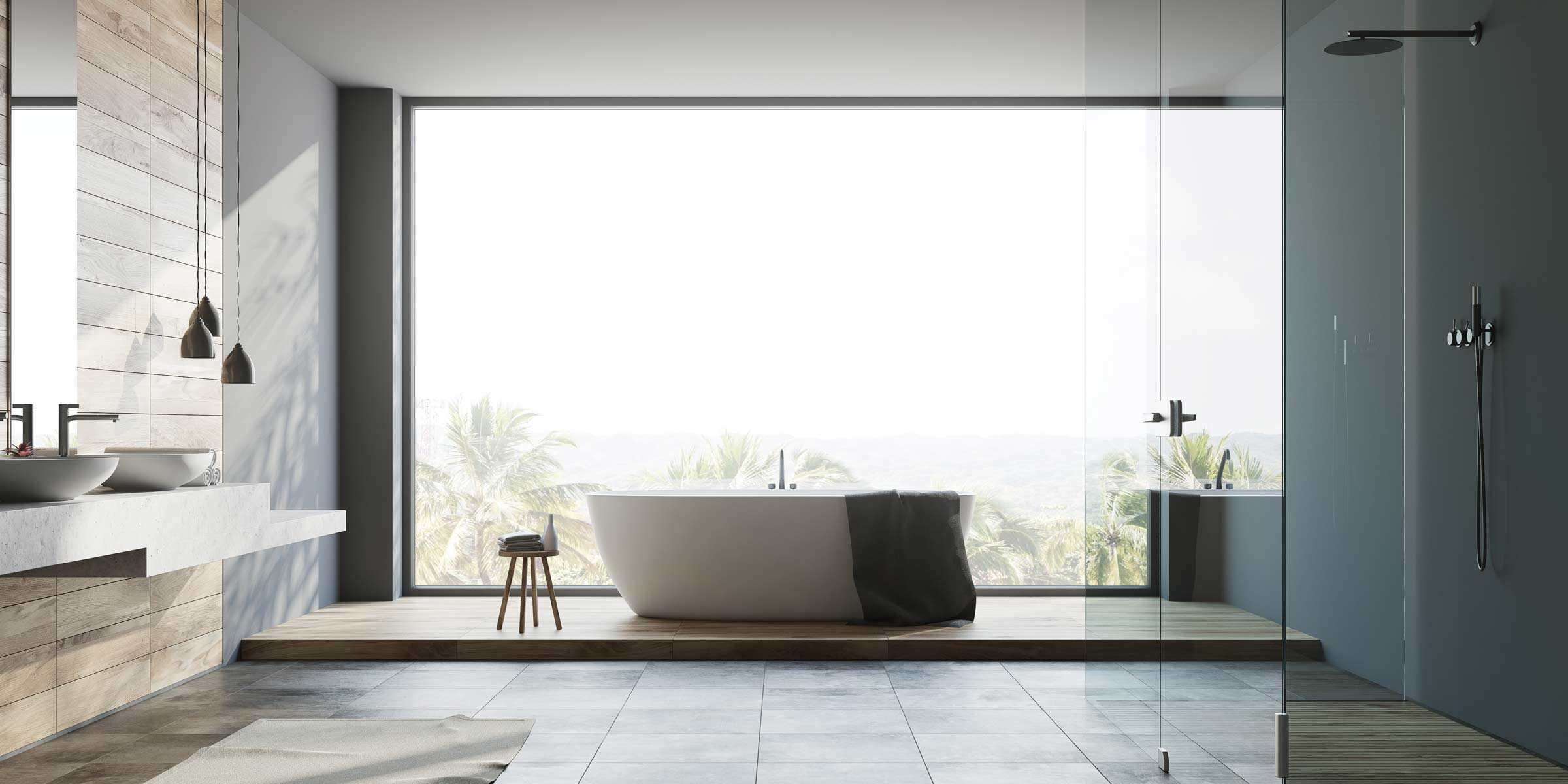 Deluxe Bathroom Renovation Costs - What You'll Get for $30,000+