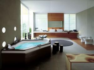 deluxe bathroom renovation