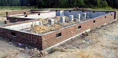 House foundations the pros cons of 3 different types for Different types of home foundations