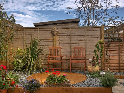 trade up your home with fencing