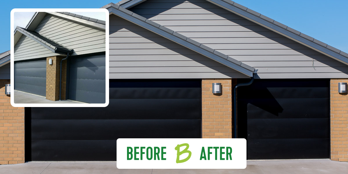 Garage Door Colour Update Challenge Solved By Our Tradies