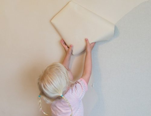 A 3yo's Take on Having Plasterers in the Home