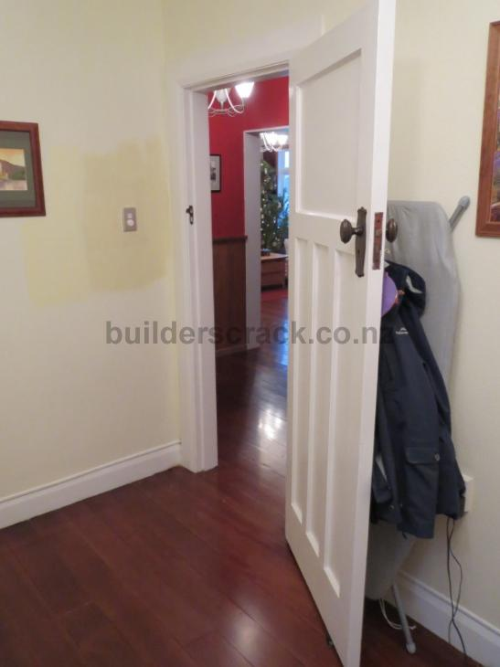 Handyman jobs - reverse a door, replace skirting board