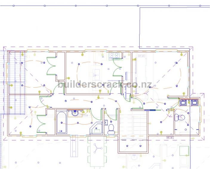 New House Electrical Work ( 5406) Builderscrack Electrical Work Plan  Electrical Work Plan Usps I