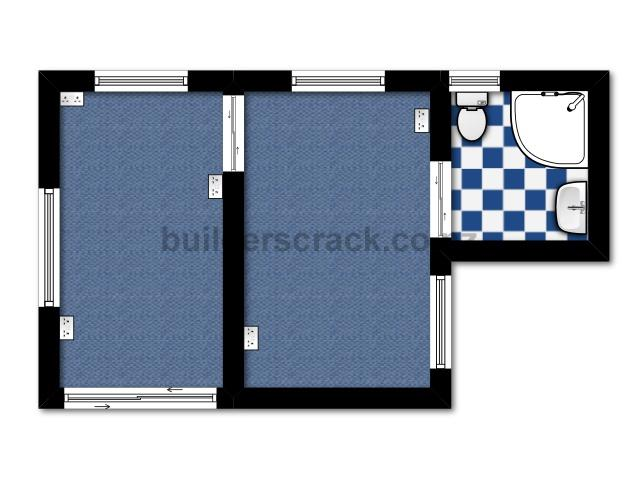 floor plan of our house and plans for a sleepout 38944