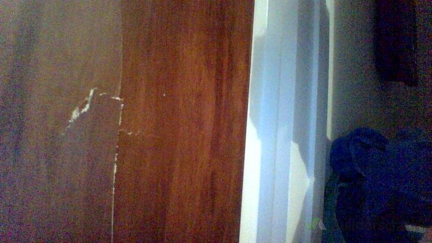 2 hollow wooden doors with holes and crack (# 149669) | Builderscrack
