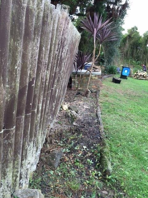 asbestos fence how to tell