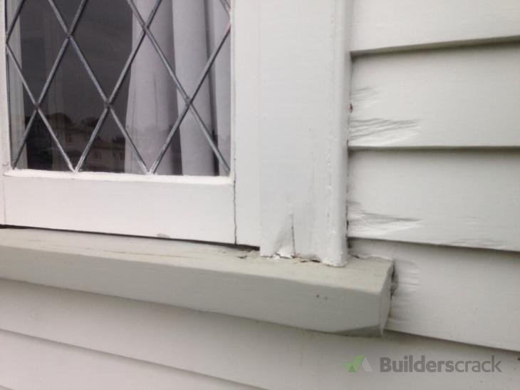 Repair of Rotting Window Frame & Weather Board (# 157157 ...