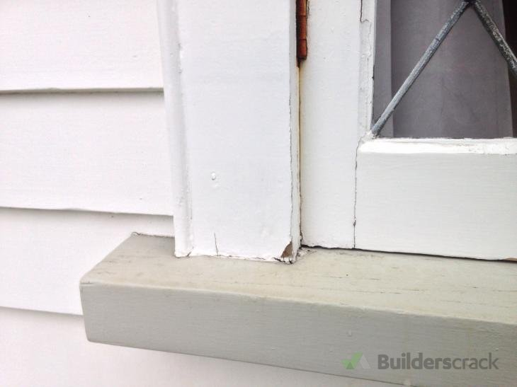 Repair of Rotting Window Frame & Weather Board (# 157157 ...