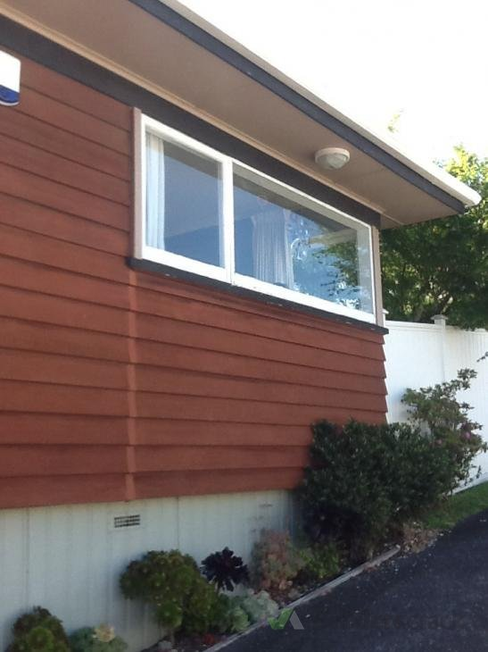 Exterior Paint And Cedar Stain 167912 Builderscrack