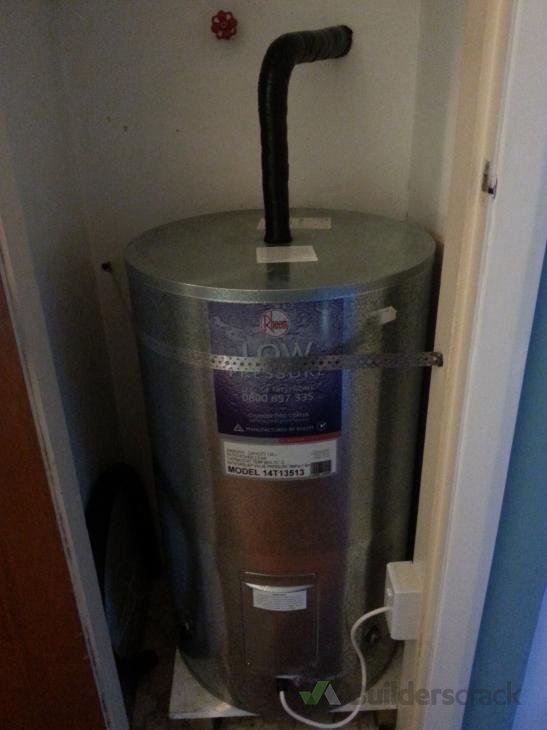 Replace low pressure hot water cylinder with a mains pressure ...