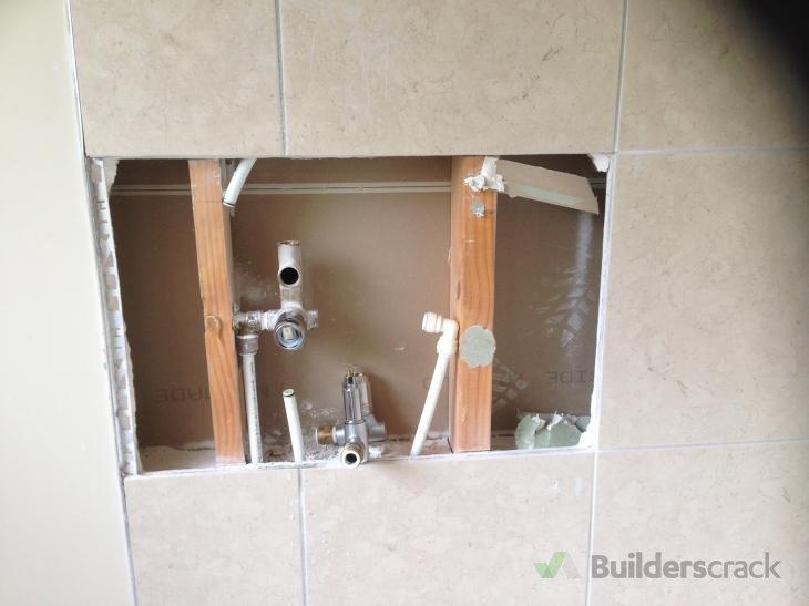 URGENT PRE XMAS JOB REINSTALL BROKEN TILESGIB ON SHOWER WALL - How to fix broken tile in bathroom