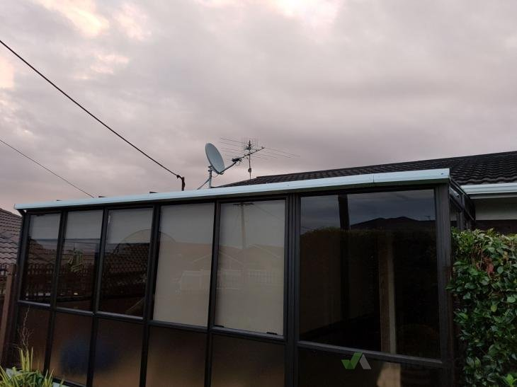 Twinwall Polycarbonate Conservatory Roof Replacement
