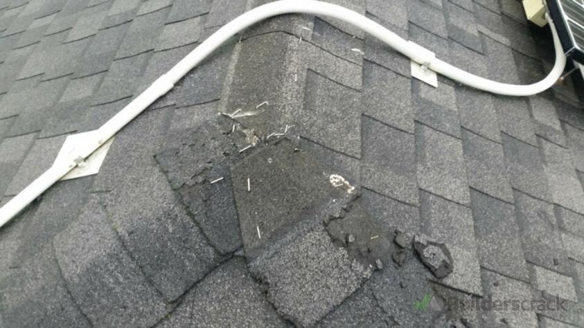 how to fix asphalt shingles