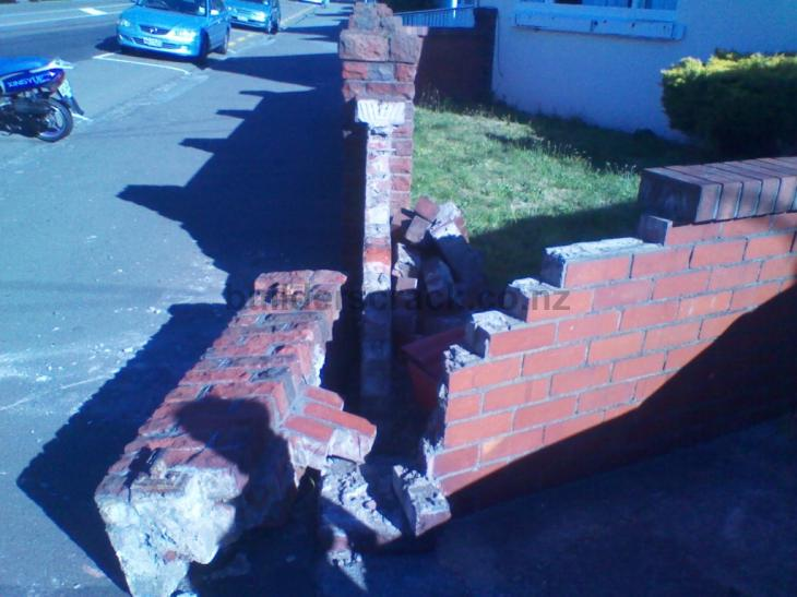 Fix damaged brick boundary wall 31146 builderscrack for Boundary wall cost calculator