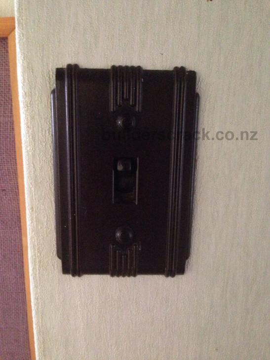 Kitchen light switch  58570  Builderscrack
