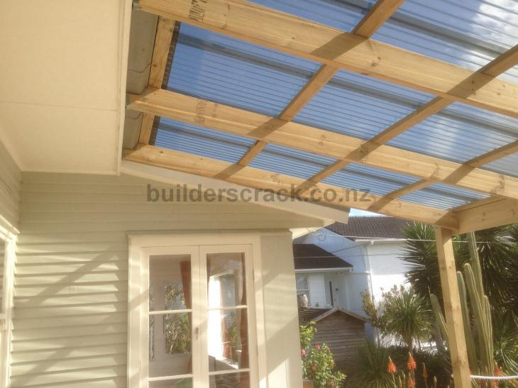 Covered Pergola 54722 Builderscrack