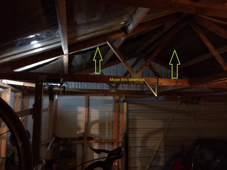 Versatile garage truss alteration 65591 builderscrack for Versatile garages