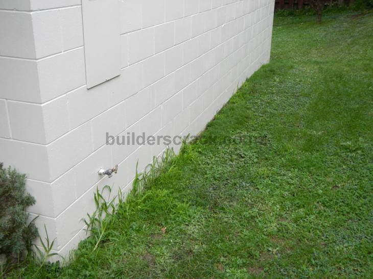 Waterproofing concrete block garage wall 37549 - Sealing exterior cinder block walls ...