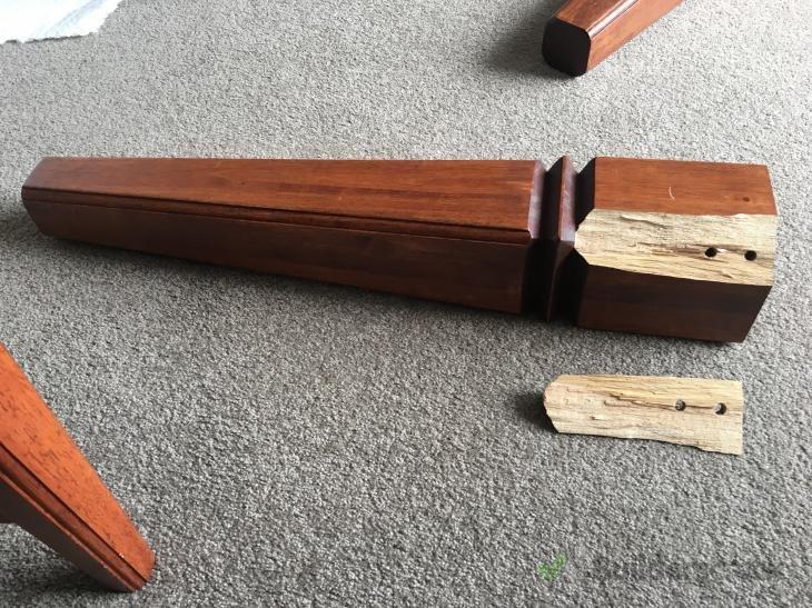 Terrific Repair Table Leg 288303 Builderscrack Interior Design Ideas Lukepblogthenellocom
