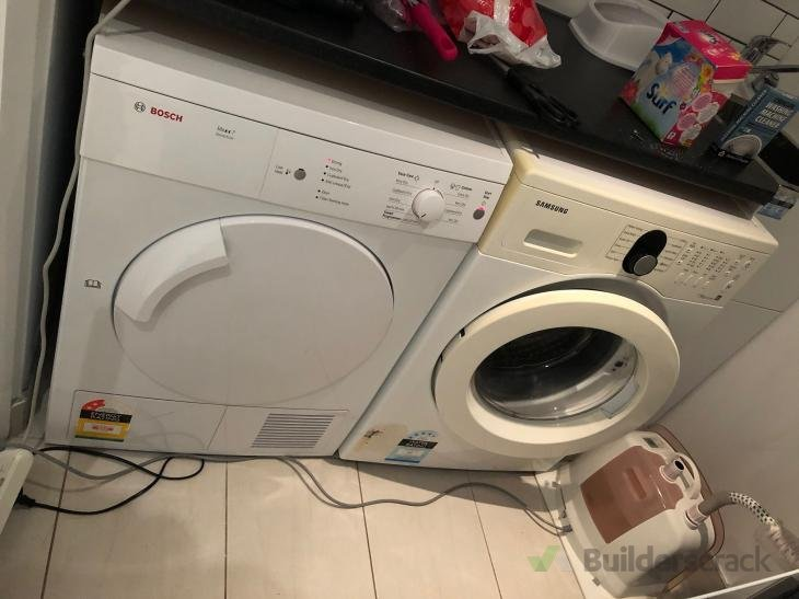 Washing machine repairs -Loud banging noise during spin