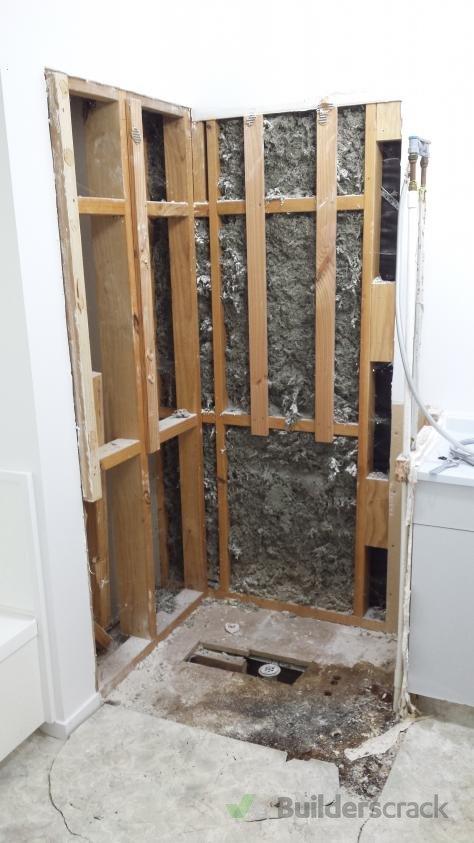 Installing a new shower (# 289809) | Builderscrack