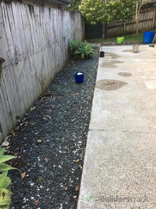 Exposed aggregate patio extension and path & Exposed aggregate patio extension and path (# 293582) | Builderscrack