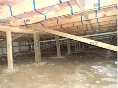 Moisture Barrier Under House