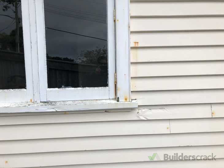 Replacing rotten timber in and around window frame (# 303490 ...