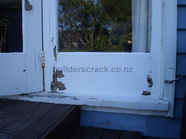 Replace Wet Rot Section In Two Timber French Doors One