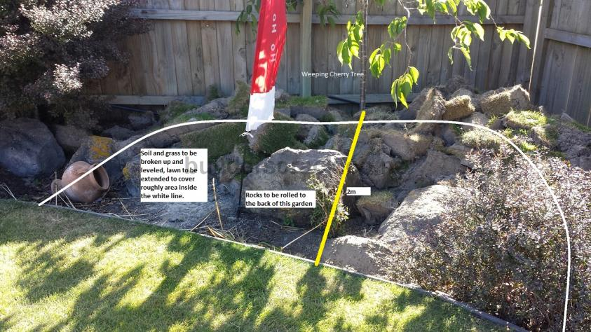 Lawn preparation and sow 74606 builderscrack for Ready lawn christchurch