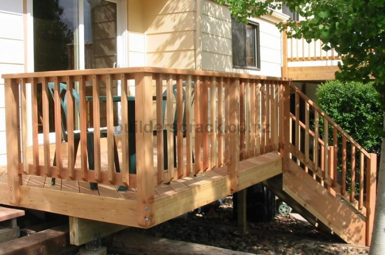 New Timber Balustrades For Deck 79402 Builderscrack
