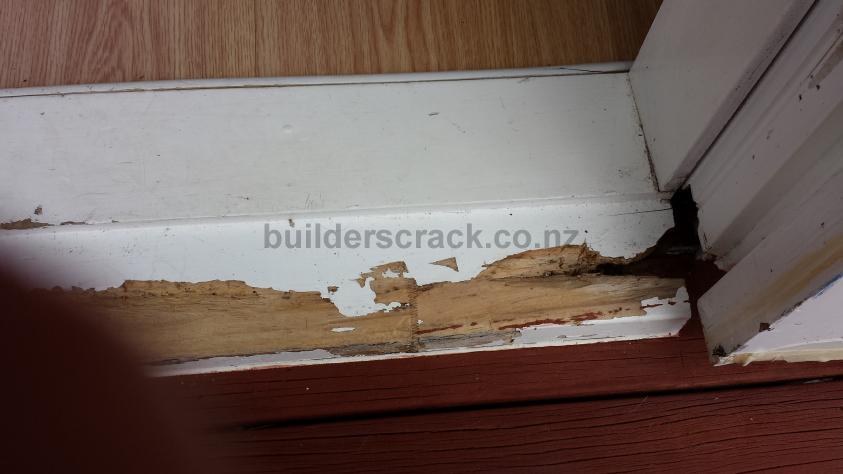 Replace French door sill (wooden) (# 79979)   Builderscrack