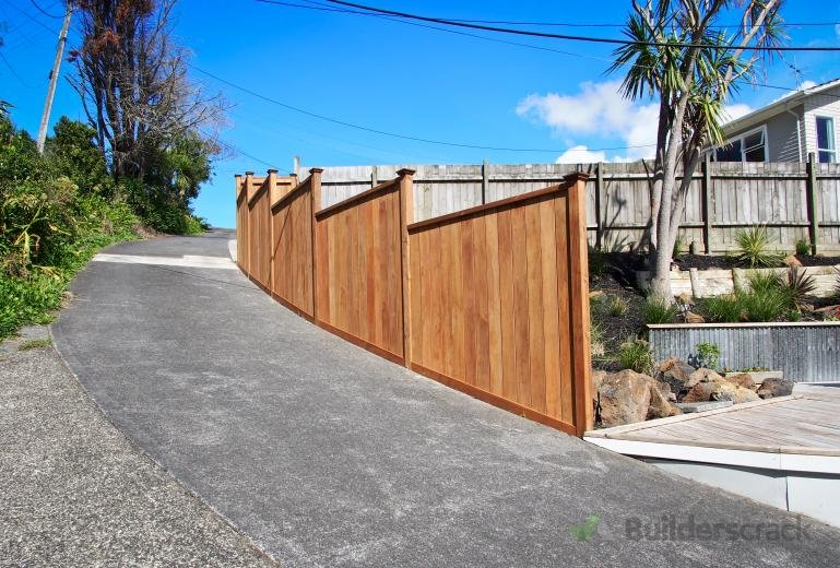 Fence boundary driveway 82756 builderscrack for Boundary wall cost calculator