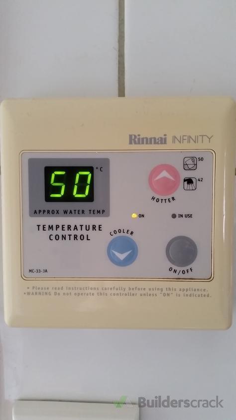 Rinnai Infinity Temp Control 85079 Builderscrack