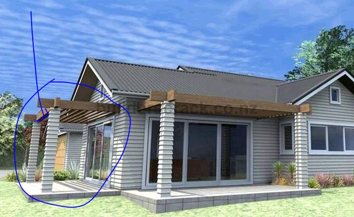 Pergola With Sun Roof Over Patio 33417 Builderscrack