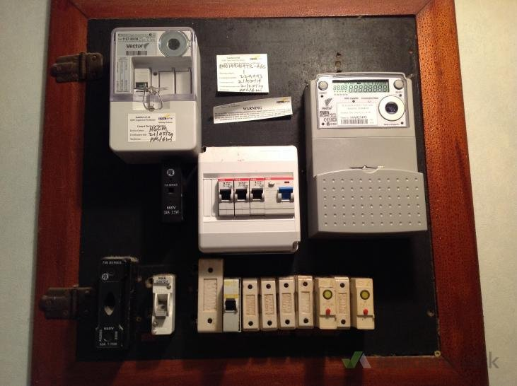 Prepare to move meters and new fuse board (# 91646 ... on