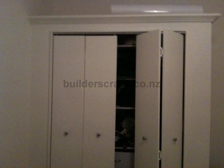 install two cupboard wardrobe doors 18007 builderscrack