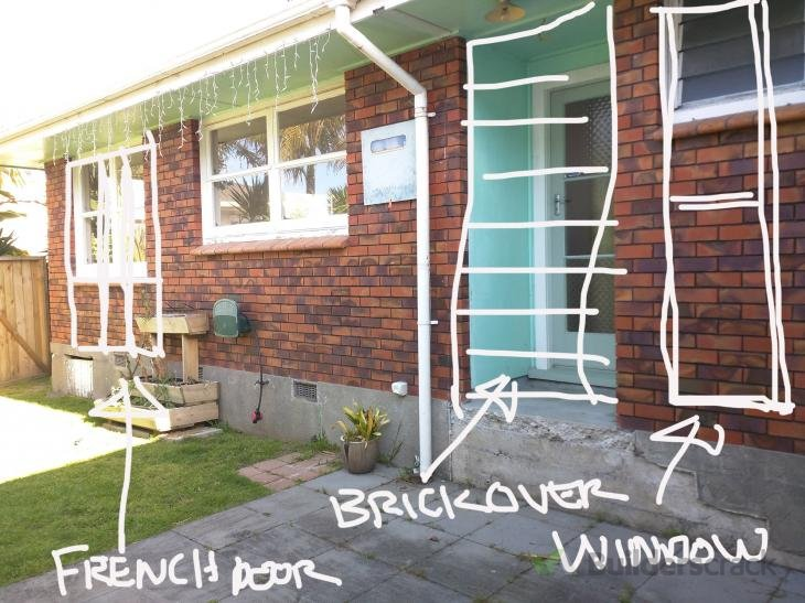 Replace Windows With French Doors On Brick Unit 105094