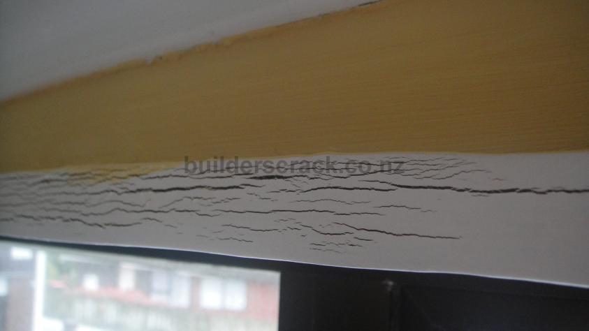 Water leak in from window frame (# 10693)   Builderscrack