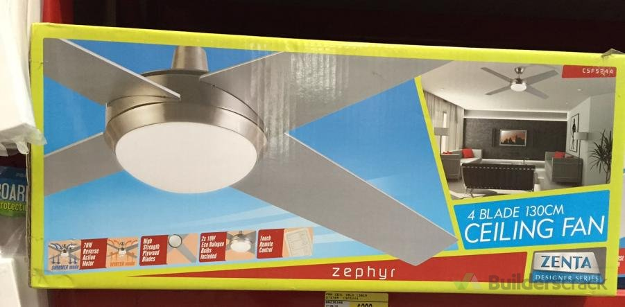 Ceiling fan install (# 126216) | Builderscrack