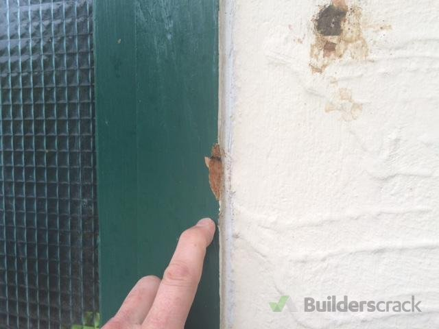 External window trim rot repair (# 126765)   Builderscrack